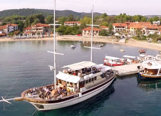Mount Athos Cruises from Ormos Panagias House Chrisi Halkidiki