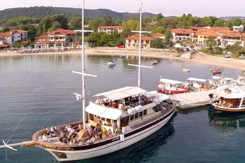 Mount Athos Cruises from Ormos Panagias House Chrisi Halkidiki
